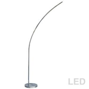 Polished Chrome LED Floor Lamp
