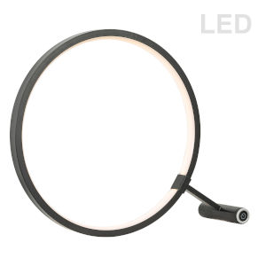 Black LED Table Lamp