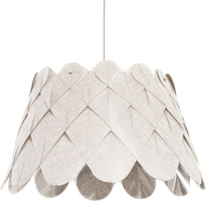 Amirah Camelot Cream One-Light Pendant