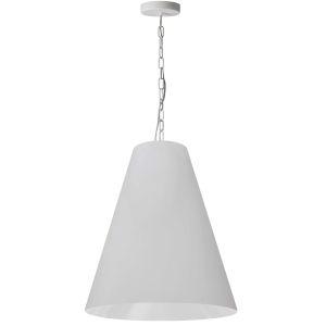 Anaya Matte White 20-Inch One-Light Pendant