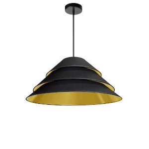 Aranza Black Gold One-Light Pendant