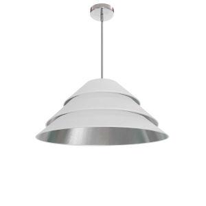 Aranza White Silver One-Light Pendant