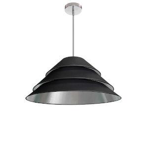 Aranza Black Silver One-Light Pendant