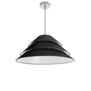 Aranza Black One-Light Pendant