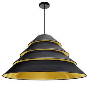 Aranza Black Gold Four-Light Pendant