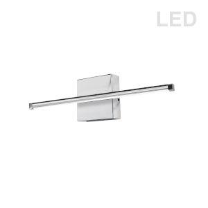 Array Polished Chrome 25-Inch Horizontal LED Wall Sconce