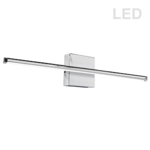 Array Polished Chrome 36-Inch Horizontal LED Wall Sconce