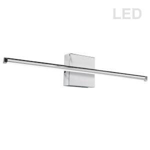 Array Polished Chrome 36-Inch Horizontal LED Wall Sconce