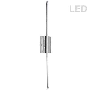 Array Polished Chrome 36-Inch Vertical LED Wall Sconce