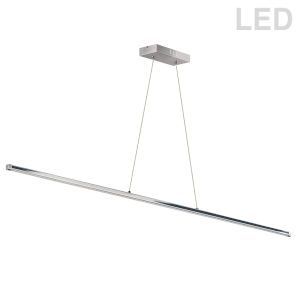 Array Polished Chrome LED Pendant