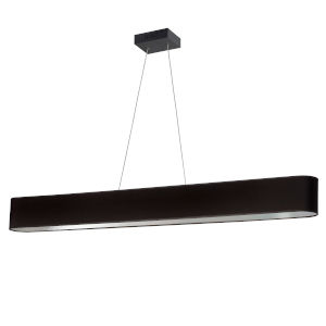 Aubrey Black and Silver 51-Inch LED Linear Pendant