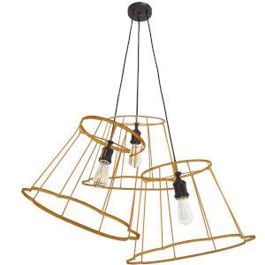 Belenko Gold Three-Light Pendant