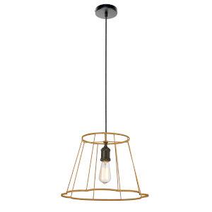 Belenko Matte Gold 16-Inch One-Light Pendant