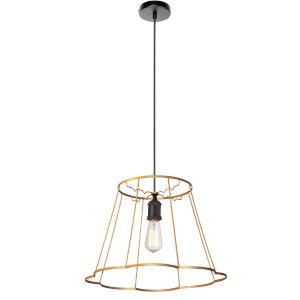Belenko Matte Gold 18-Inch One-Light Pendant