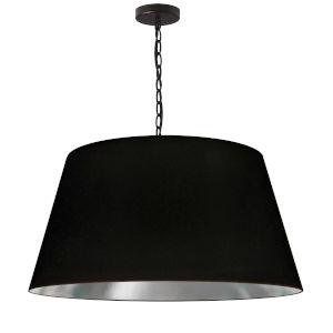 Brynn Black Silver 26-Inch One-Light Pendant
