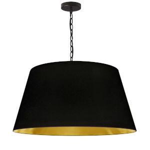 Brynn Black Gold 26-Inch One-Light Pendant
