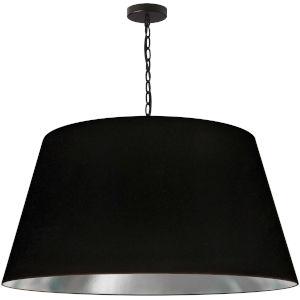 Brynn Black Silver 32-Inch One-Light Pendant
