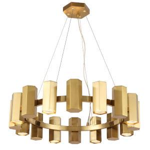 Centella Aged Brass 16-Light Wagon Wheel Chandelier