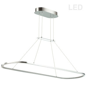 Daytona Polished Chrome LED Pendant