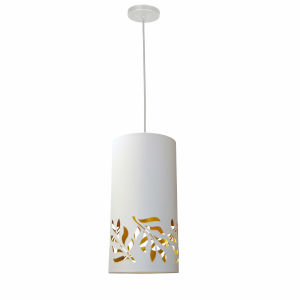 Flora White Gold One-Light Mini Pendant