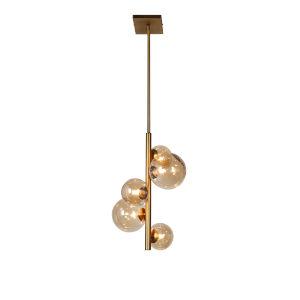 Glasglow Vintage Bronze Five-Light Pendant