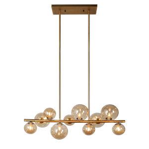 Glasglow Vintage Bronze 10-Light Pendant