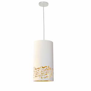 Glora White Gold One-Light Mini Pendant