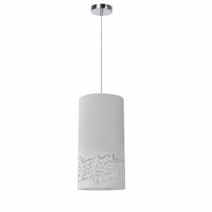 Glora White One-Light Mini Pendant