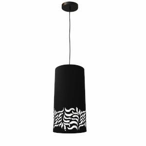 Glora Black One-Light Mini Pendant