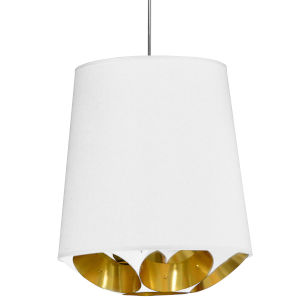 Hadleigh White Gold 20-Inch One-Light Pendant