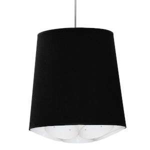 Hadleigh Black 20-Inch One-Light Pendant