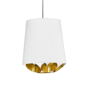 Hadleigh White Gold 14-Inch One-Light Pendant