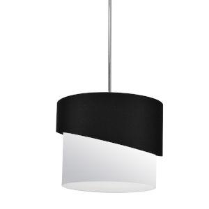 Jazlynn Black White One-Light Pendant