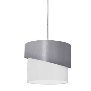 Jazlynn Gray White One-Light Pendant