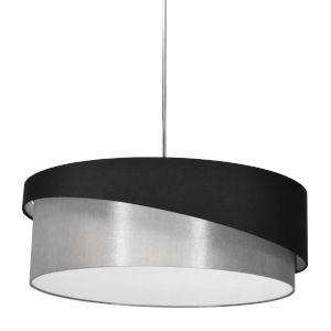 Jazlynn Black Gray Three-Light Pendant