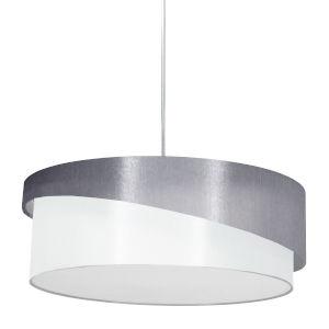 Jazlynn Gray White Three-Light Pendant