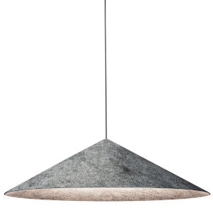 Jessica Gray and Black 24-Inch One-Light Pendant