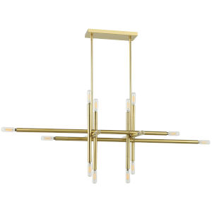Kanata Aged Brass 16-Light Pendant
