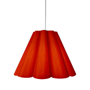Kendra Red 33-Inch Four-Light Pendant
