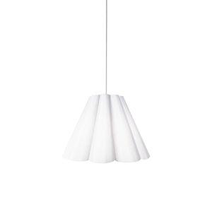 Kendra Milano White 19-Inch One-Light Pendant