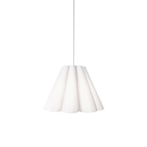 Kendra White 19-Inch One-Light Pendant