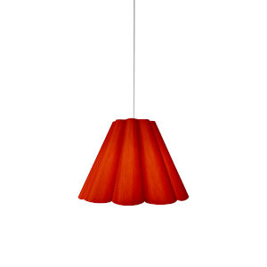Kendra Red 19-Inch One-Light Pendant