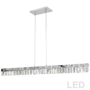 Kimberly Polished Chrome LED Pendant