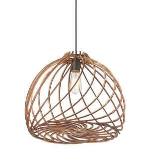Lilian Wood One-Light Pendant