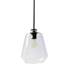 Madison One-Light Mini Pendant with Clear Glass Shade