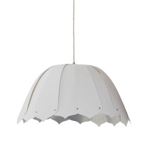 Noa Camelot White 15-Inch One-Light Pendant