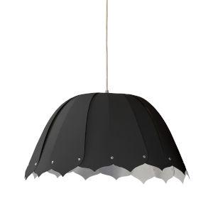 Noa Black Silver 15-Inch One-Light Pendant