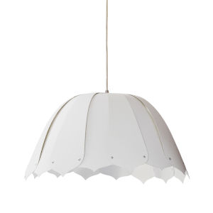 Noa White 15-Inch One-Light Pendant