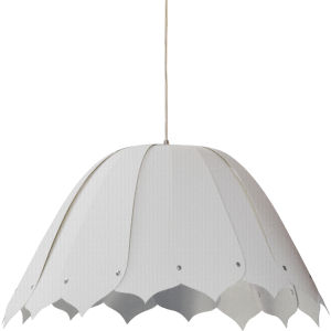 Noa Camelot White 21-Inch One-Light Pendant