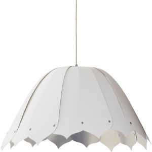 Noa White Silver 21-Inch One-Light Pendant